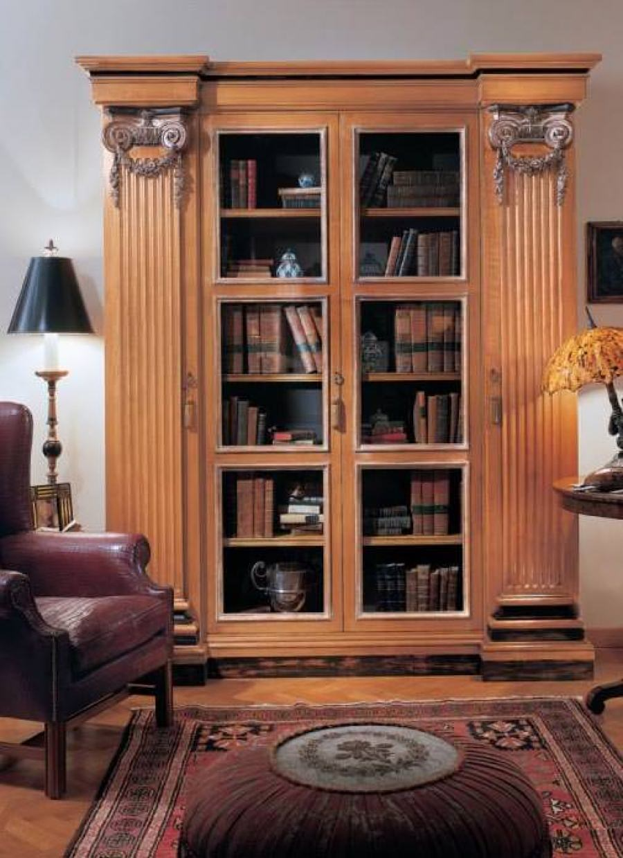 Книжный шкаф из массива дуба, provasi - мебель мр.