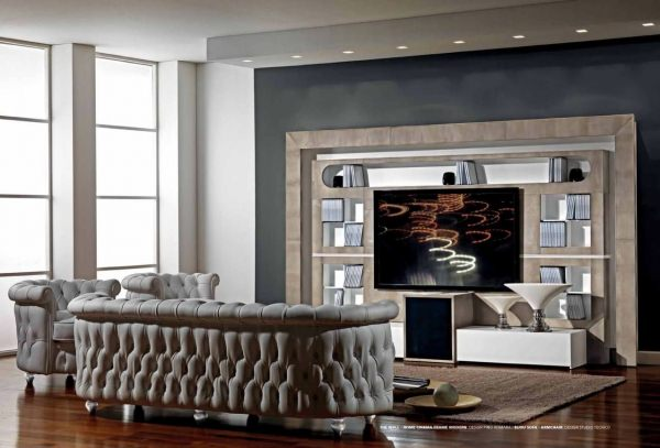 Tv wall frame designs